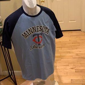 Majestic MLB shirt Twins size Large